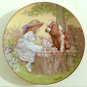 Hamilton Collection - Tea For Two Collector Plate